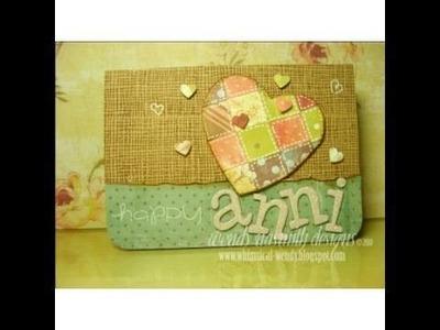 Card Tutorial - Happy Anni