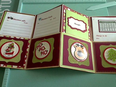 Challenge #86 for MSR with Tutorial - Christmas Planner