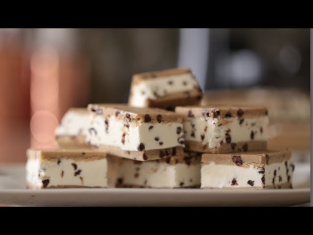 Chocolate Chip Ice Cream Sandwich   Byron Talbott