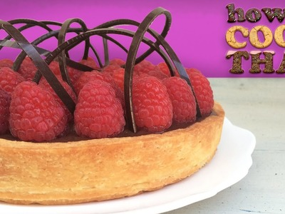 CHOCOLATE RASPBERRY TART RECIPE How To Cook That Ann Reardon