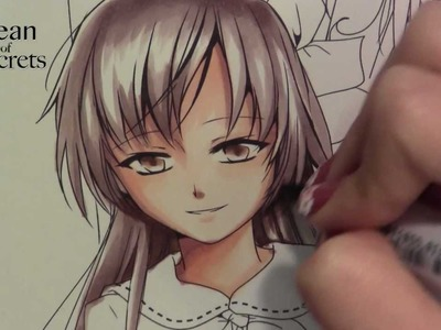 Coloring with copics- My Manga characters