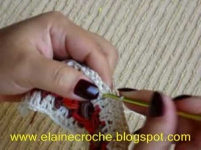 CROCHE - TÉCNICA DO MILE-A-MINUTE MOD 3 - 3ª PARTE