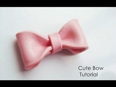 Cute Bow Tutorial