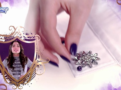 Disney Descendants - Jewel Collar Tutorial - Official Disney Channel UK HD