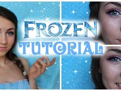 Disney's Frozen Elsa Halloween Makeup Tutorial