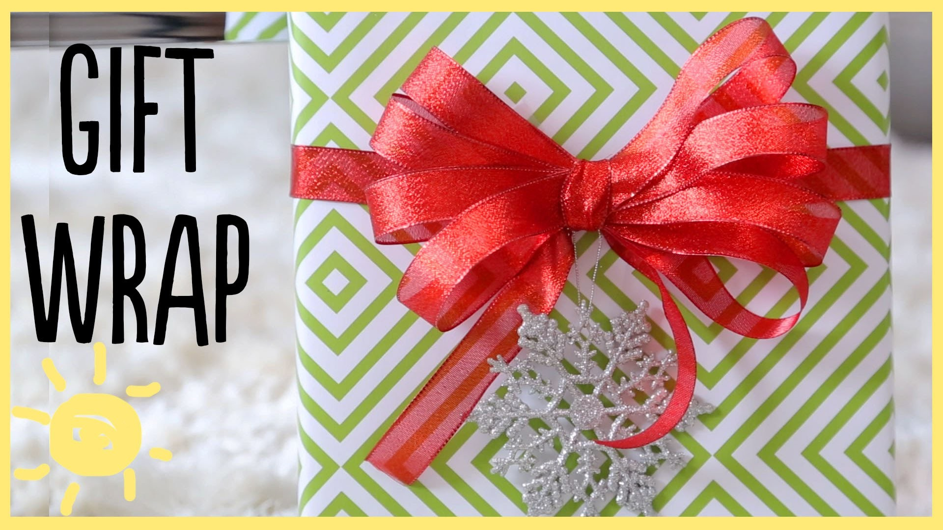 DIY. Gift Wrap Ideas (+How to Make a Perfect Bow!!)