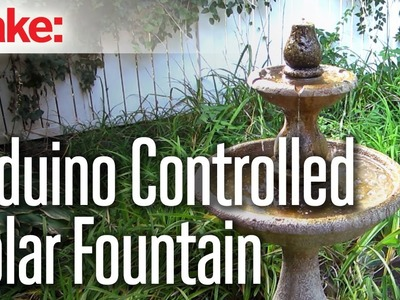 DIY Hacks & How To's: Arduino Water Fountain