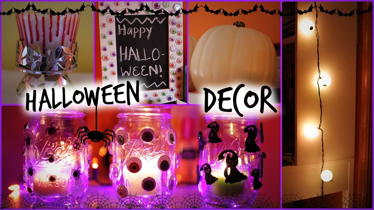 DIY Halloween.Fall 2014 Room Decor & Ways to Decorate!
