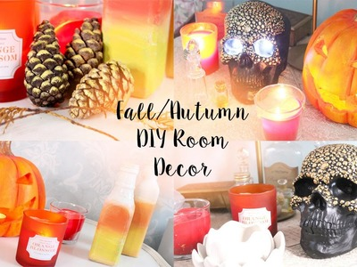 DIY Tumblr & Pinterest Room Decor For Autumn.Fall