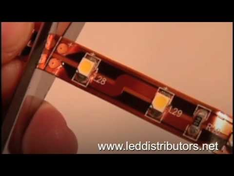 Flexible LED Light Strip - Cut and Connect DIY