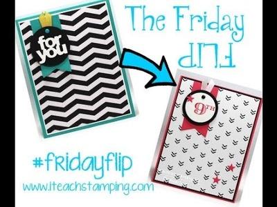 Friday Flip Making a Handmade Birthday Card