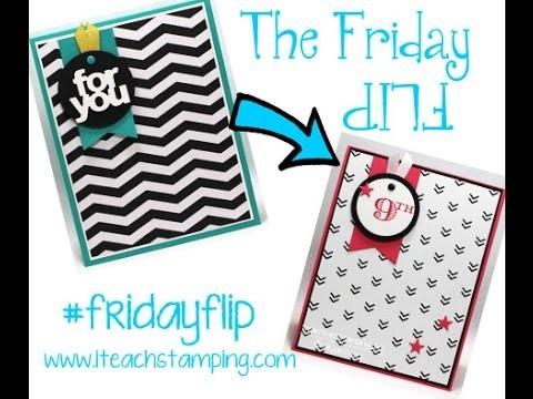 8a09be3b2 Friday Flip Making a Handmade Birthday Card