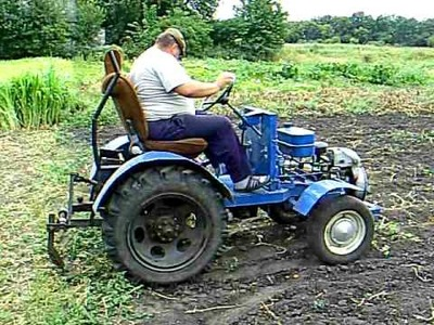 Home made tractor Slavik