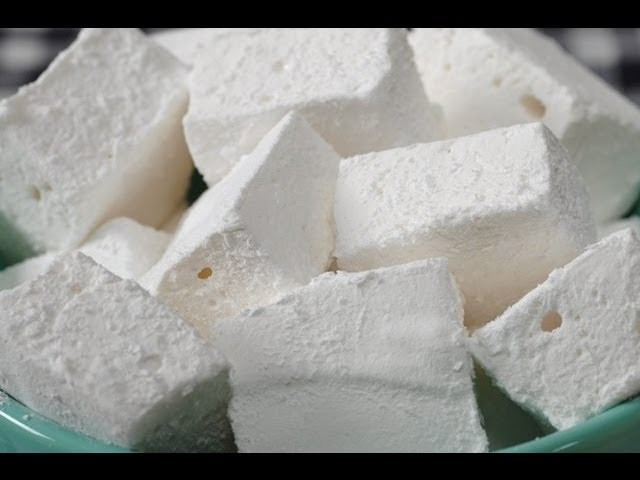 Homemade Marshmallows Recipe Demonstration - Joyofbaking.com