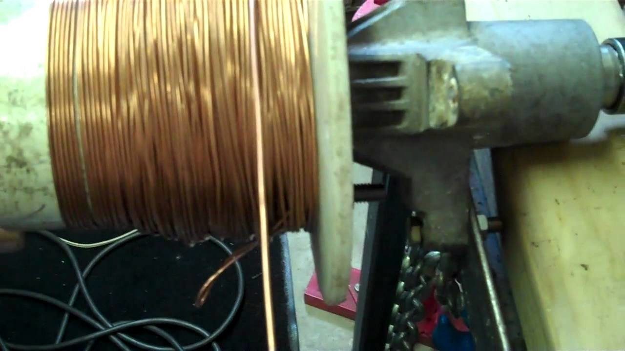 Homemade Scrap Copper Wire Stripper