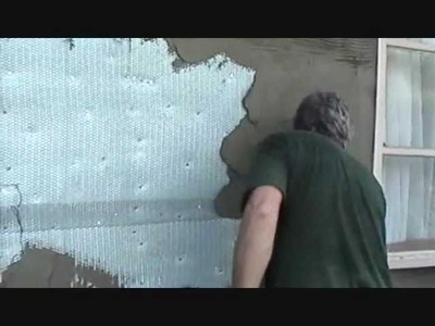 How I Install Stone Veneer (part 2 of 4) Mike Haduck, Preparing for stone installation