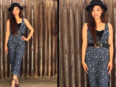 How I Style | Overalls.Dungarees