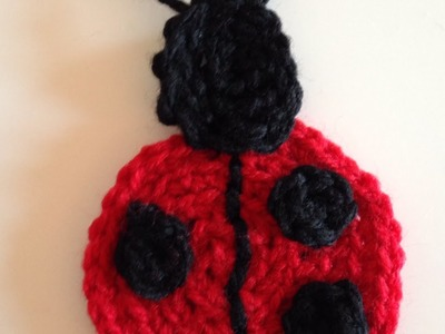 How To Crochet A Cute Ladybug Applique - DIY Crafts Tutorial - Guidecentral