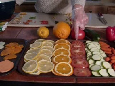 How to dehydrate and store food PART 1