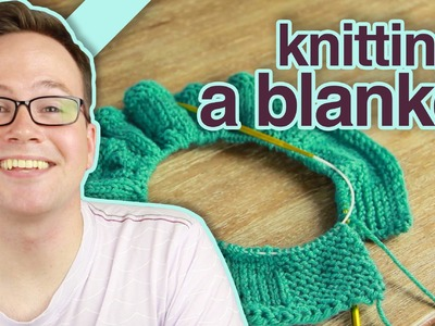 How to Knit a Blanket With Circular Knitting Needles