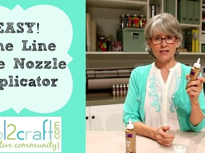 How to Make a Fine Line Tape Nozzle Applicator