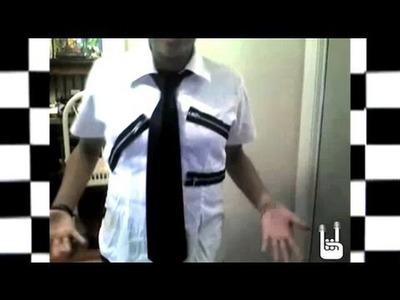 How to make a Zipper Shirt, Threadbanger