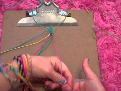 How to make friendship bracelets: Flower