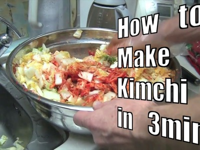 How-To Make Kimchi in 3 Minutes