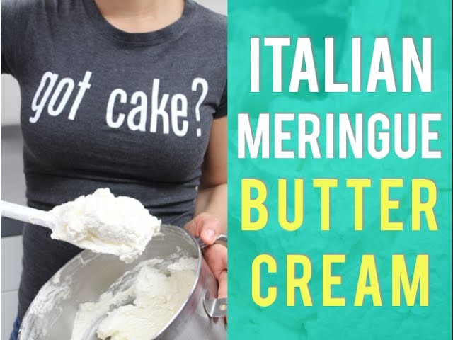 How To Make Yolanda Gampp's famous ITALIAN MERINGUE BUTTERCREAM! The perfect icing for any CAKE!