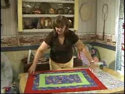 How to Quilt : Making a Sandwich Quilt