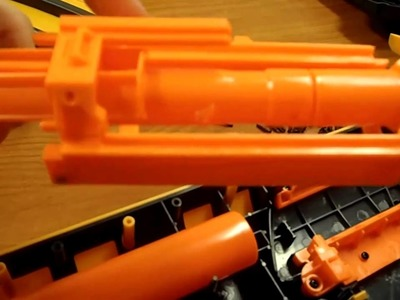 How to: The Nerf Quick 16 Mod Guide (AR removal, seal improved, Release holes sealed)