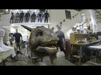 It's All In the Details: Giving a 14-Foot Creature a Giant Makeover-WIRED