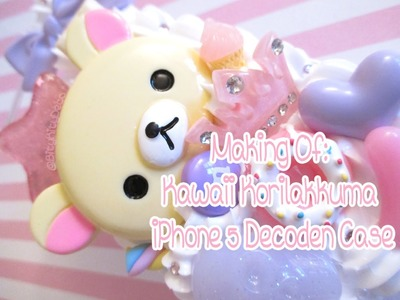 Making of: Kawaii Korilakkuma Decoden iPhone 5 case