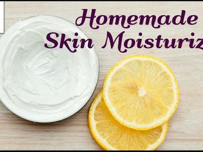 Natural Homemeade Skin Moisturizer