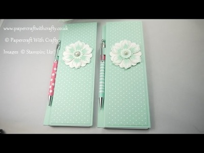 Notepad Cover and Pen Holder