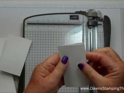 Part 1~ Note cards & Envelopes with Dawn
