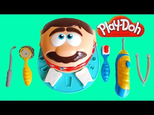 Play Doh Dr Drill n Fill Dentist Playset Unboxing