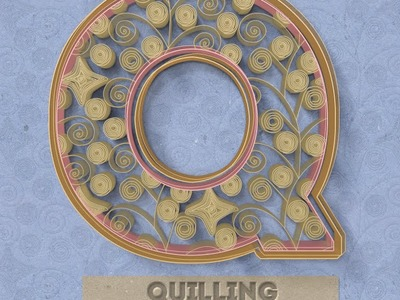 Quilling Paper Art Photoshop Creator Tutorial