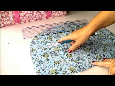 Sew a Carry-all Bag.  Part 1, introduction and outside pockets