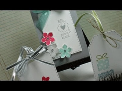 Stampin' on Friday #55 Tag Topper Punches and 3 Tags!