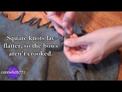 T-Shirt Recon: Basics #2--Cut & Tie