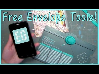 This Cool App Makes ANY size Envelopes With a WeR Punch Board!