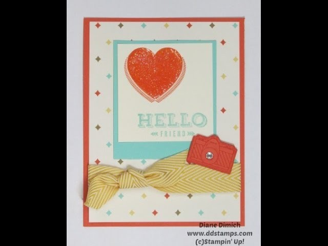 Tips and Tricks on How to Use Stampin' Up!'s On Film Framelits with the Peachy Keen Stamp Set