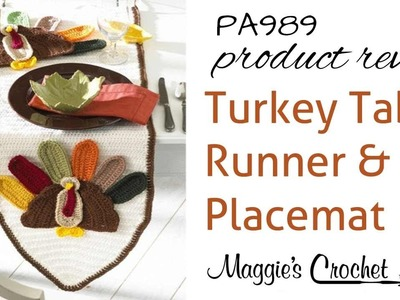 Turkey Table Runner and Placemat Product Review PA989
