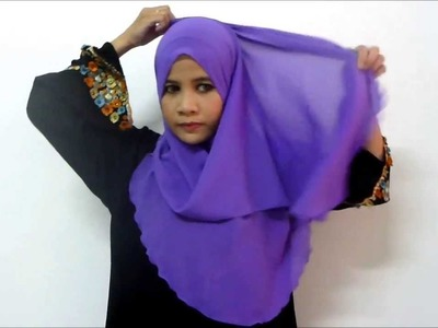 Tutorial Shawl End Curve HUMAIRA