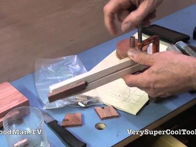 06 Platform Bed Storage Drawer • Sizing The Bronze Bushings