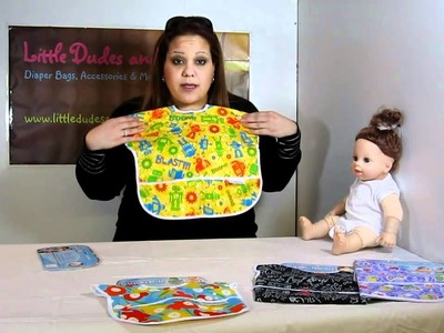 Bumkins Junior Bib How To and Overview