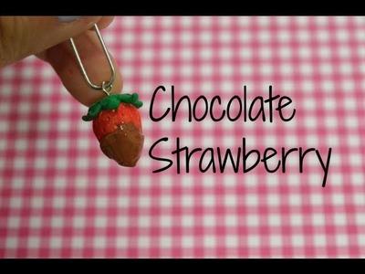 Chocolate Strawberry Tutorial (Polymer Clay)