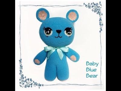 Crochet.amigurumi Baby Blue Bear Tutorial