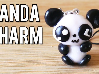 ★ Cute Panda Charm  (Polymer Clay Tutorial) ★